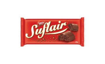 Barra de Chocolate Nestlé Suflair 130g