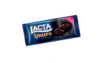 Barra de Chocolate Lacta Amaro 90g