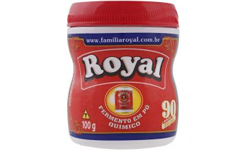 Fermento pó Royal 100g